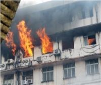 مصرع 5 مصابين بكورونا إثر اندلاع حريق في مستشفى بالهند