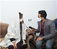 خاص | وزيرة الهجرة تكشف أدعيتها داخل المسجد