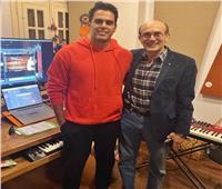 هشام خرما ينتهي من الموسيقي التصويرية لاحتفالية «50 سنة فن»