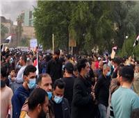 قتيلان و49 جريحا باشتباكات بين متظاهرين في العراق