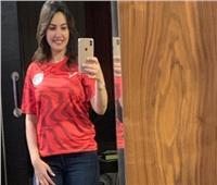 دينا فؤاد بقميص منتخب مصر: «الأهلي وبس»