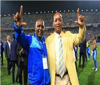 رئيس اتحاد جنوب إفريقيا ومالك صن داونز في ستاد القاهرة لدعم موسيماني