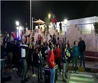 احتفالات جماهير الأهلي في السويس بعد حصد البطولة التاسعة