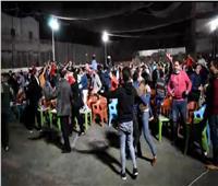 مشجعو الأهلي في أسيوط يحتفلون بالتتويج الأفريقي