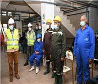 تدريب عملي للسلامة والصحة المهنية بمحطة مياه الشرب بالعدلية في دمياط