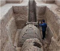 اكتشاف مقبرة عمرها نحو 1400 عام شمالي الصين