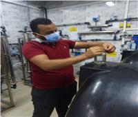 حملات مكثفة لإدارة صحة البيئة للرقابة على مياه الشرب بالدقهلية