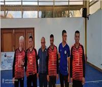 جامعة القناة تحصد المركز الأول لكرة الجرس