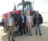 صور.. الزراعة: رئيس جهاز تحسين الأراضي يبحث مطالب أهالي سيوة