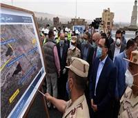 رئيس الوزراء يتفقد أعمال تطوير بحيرة عين الصيرة والمنطقة المحيطة