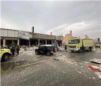 قتيل وستة جرحى إثر انفجار بسبب ترسيب غاز في مطعم بالرياض
