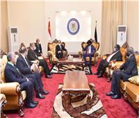 التفاصيل الكاملة  الرئيس السيسي يعقد جلسة مباحثات ثنائية مع «سلفا كير»