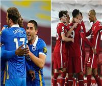 انطلاق مباراة ليفربول وبرايتون في الدوري الإنجليزي