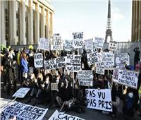 احتجاجات واسعة فى فرنسا ضد قانون الأمن الشامل