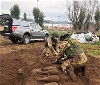 الجيش الإيطالي ينزع قنابل من مركز تدريب نادي روما
