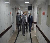 رئيس جامعة سوهاج يتابع الاستعدادت النهائية لافتتاح قسم جراحة القلب والصدر| صور