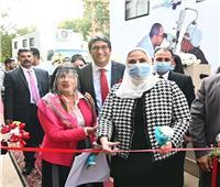 وزيرة التضامن الاجتماعي تشهد افتتاح مقر «راعي مصر»