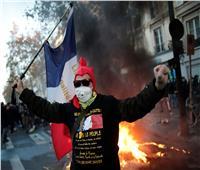 الأمن الفرنسى يطلق قنابل الغاز لتفريق محتجين على عنف الشرطة