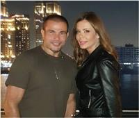 حكاية فيديو تسبب في شائعة ارتباط عمرو دياب وإيمي سالم