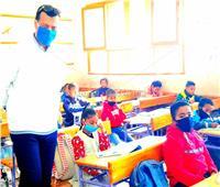 وكيل «تعليم الأقصر»يزور مدارس إسنا