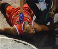 في ثاني أيام تصفيات أفريقيا لكرة السلة.. إصابة لاعب منتخب المغرب بإرتجاج بالمخ