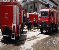 الدفع بـ3 سيارات إطفاء لإخماد حريق بعقار في شبرا الخيمة