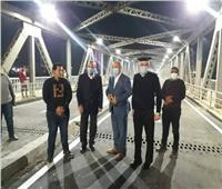 «الهجان» يشهد فتح كوبري كفر الجزار أمام حركة «السيارات»