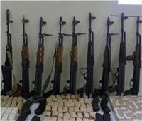 انفوجراف| الداخلية تعرض مضبوطات السلاح والمخدرات خلال أسبوع