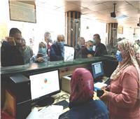صور| زحام بالقليوبية لتقديم أوراق التصالح قبل انتهاء المدة