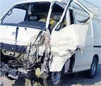 انقلاب سيارة أجرة بالقليوبية.. وإصابة 4 أشخاص