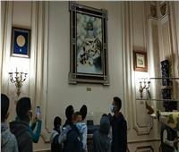 «الدمج الثقافي» ينظم زيارة لأطفال مشروع أهل مصر لقصر عابدين   صور