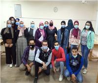 دورات تدريبية بجامعة حلوان لتأهيل طلاب الفرق النهائية لسوق العمل