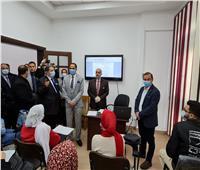 رئيس جامعة دمنهور يفتتح دورةTOT لأعضاء هيئة التدريس