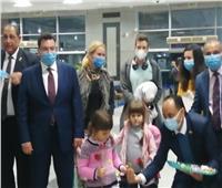 أولى رحلات خط مصر للطيران الجديد بين بودابست والغردقة | صور