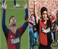 «ميسي» يحرز هدفا في شباك «أوساسونا» ويهديه لـ«مارادونا»