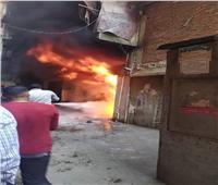 الحماية المدنية بالقاهرة تسيطر على حريق ضخم بدار السلام