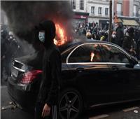 إصابة62 شرطيا في مظاهرات فرنسا