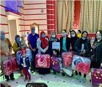 الهجرة الدولية: 100 بطانية للمهاجرين الأكثر احتياجًا بالإسكندرية