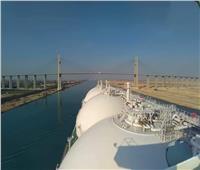 ناقلة الغاز الطبيعي المسال SOHSHU MARU العملاقة تعبر قناة السويس