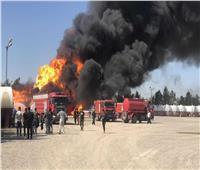 حريق بمصفاة نفط عراقية بعد استهدافها بصاروخ