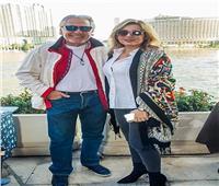 مصطفى فهمي ولقاء الخميسي وعبد المنصف في حفل «جاز».. صور
