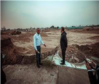 «الخطيب» يتفقد المشروعات الإنشائية بفرع الأهلي بمدينة نصر