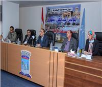 محافظ الإسكندرية: خطة للتعامل مع 73 نقطة تتعرض لتراكمات الأمطار