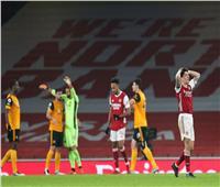أرسنال يسقط أمام ولفرهامبتون في الدوري الإنجليزي.. فيديو