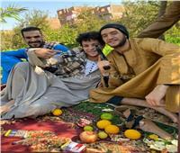 خاص| ننفرد بكواليس جلسات تدريبات أحمد مالك وداش في سوهاج