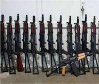 ضبط 79 متهما بحوزتهم مخدرات وأسلحة نارية بالجيزة