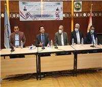 ضمن مبادرة لا للتعصب.. وزير الرياضة يلتقي بشباب وفتيات جامعة الأزهر