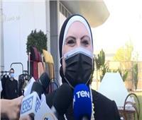أول تعليق لـ«وزيرة التجارة» على معرض صنع في مصر| فيديو