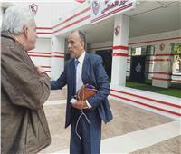 تفاصيل جلسة محمد عطية مع المدير الإداري للزمالك