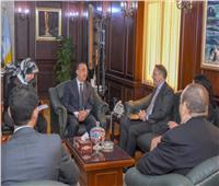 محافظ الإسكندرية يبحث مع سفير الدنمارك سبل توطيد العلاقات